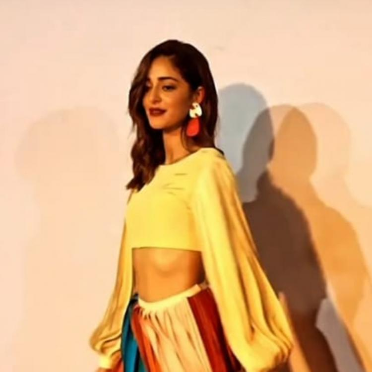 Ananya Panday demonstrates how she actually wants to walk the runway; asks 'Why can't I walk like that?'