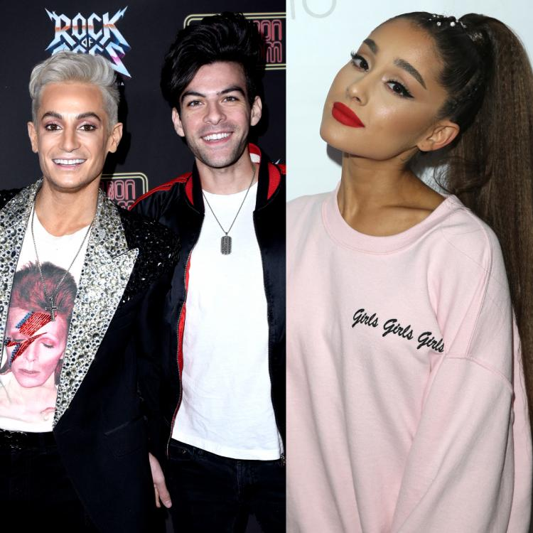 Ariana Grande congratulates brother Frankie Grande on his engagement