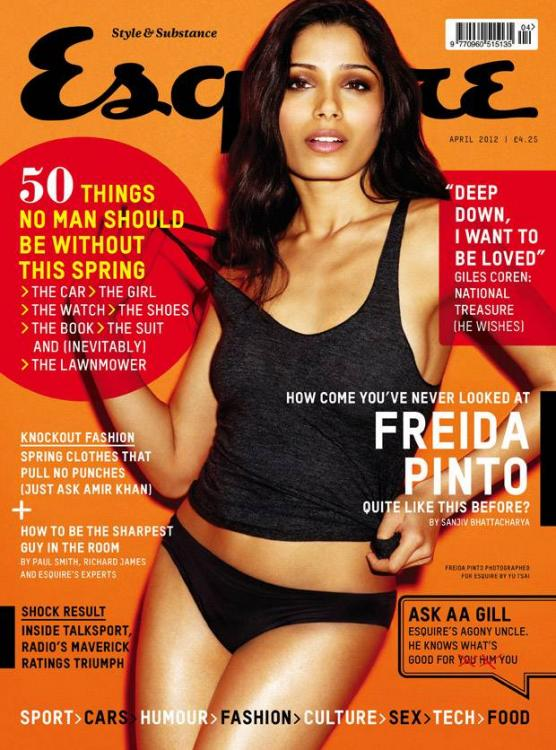 Magazine Covers,freida pinto