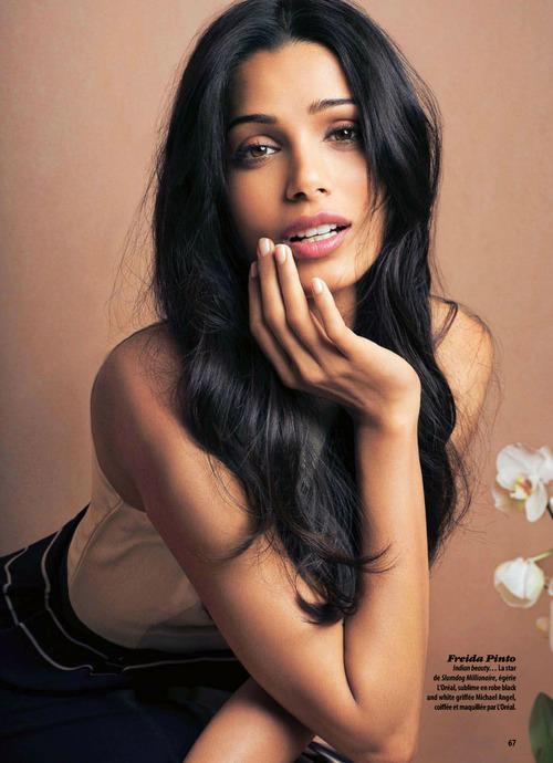 Photos,freida pinto,L'Oreal