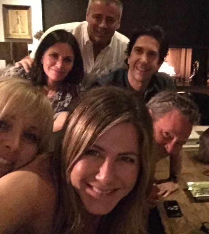 The Friends cast was originally going to shoot for the reunion special on March 23 and 24.