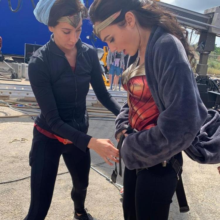 Gal Gadot shares BTS & wishes Wonder Woman 1984 team as they win Best Action Performance at SAG Awards 2021