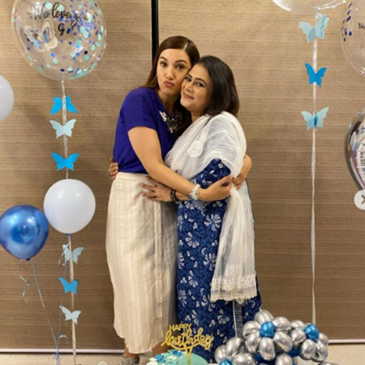 Gauahar Khan's mother in law Farzana welcomes her to the family post her engagement with Zaid Darbar; See Post