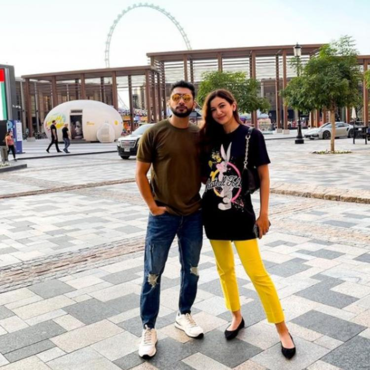 Gauahar Khan and Zaid Darbar jet off to Dubai ahead of their wedding; See PHOTOS