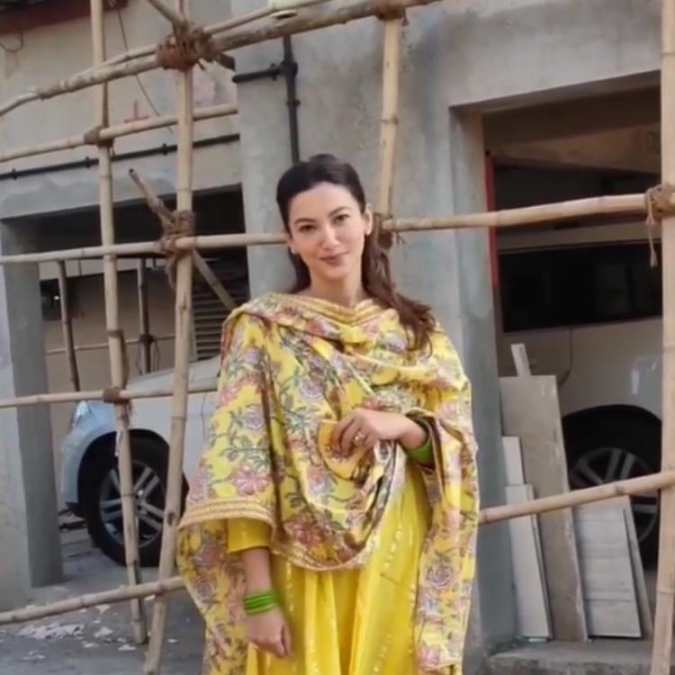 WATCH: Gauahar Khan's sweet gesture towards paps as she leaves for wedding festivities will win your hearts