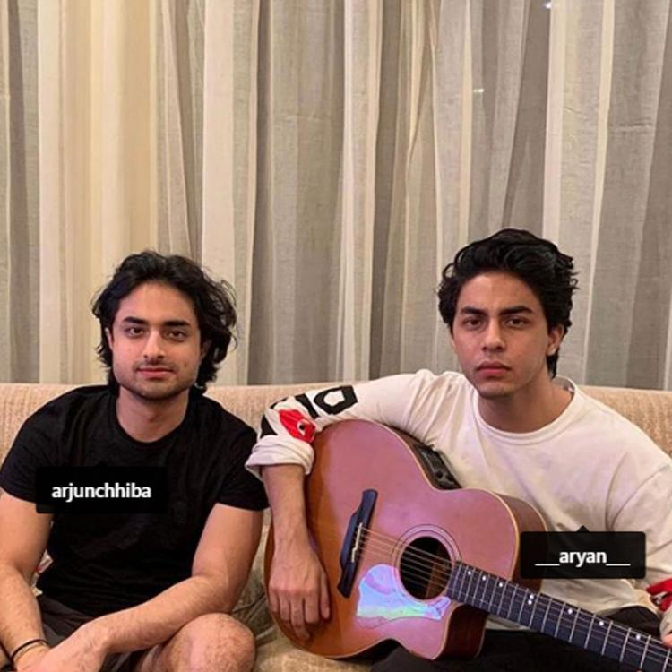 Gauri Khan shares a picture of birthday boy Aryan Khan posing with his guitar as he turns 23; See Post