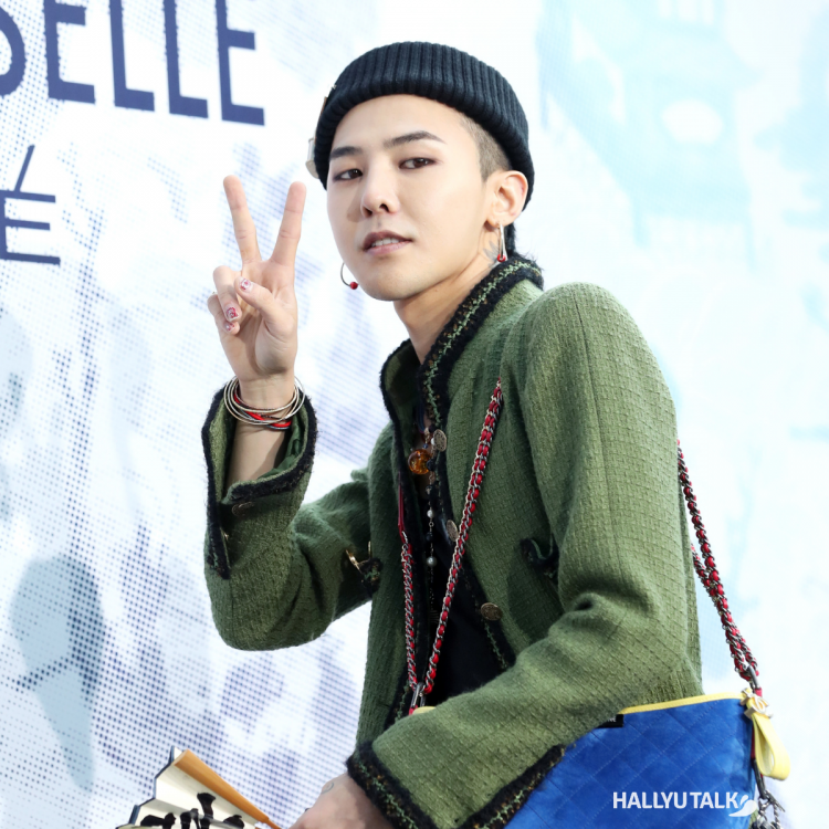 BIGBANG member GDragon pictured at an event
