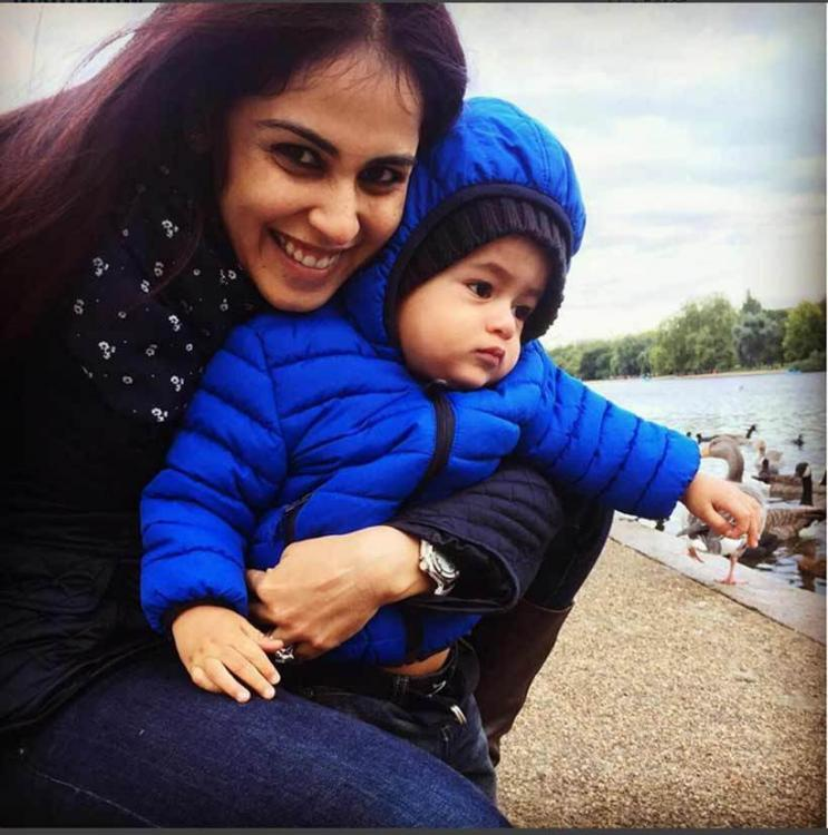 Genelia Deshmukh pens down an emotional note for her son Riaans' birthday