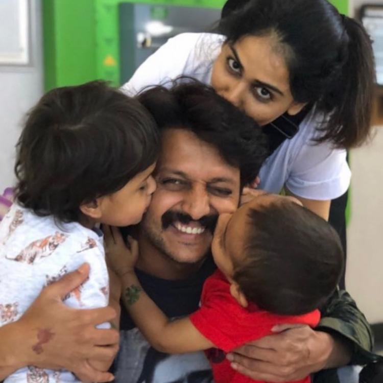 Genelia D'Souza's wish for hubby Riteish Deshmukh on his birthday is all things heart; View Post