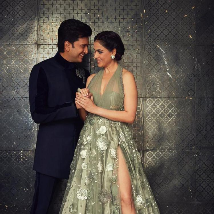 Genelia wishes her 'dearest forever' Riteish Deshmukh a Happy Anniversary; Says the best is yet to come