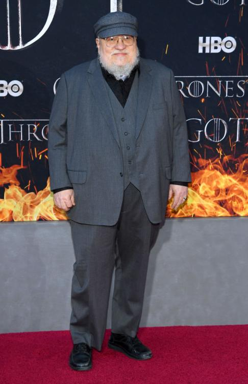 George RR Martin: Having Game of Thrones finish is freeing; I'm at my own pace now