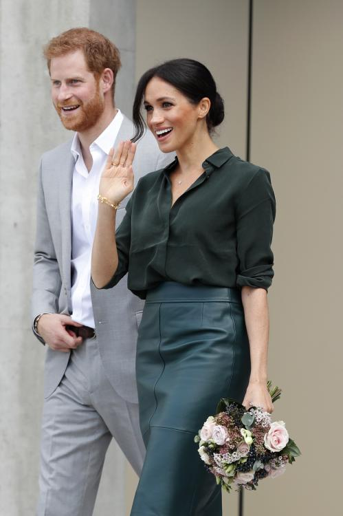 Meghan Markle and Prince Harry head home after spending brief time in Rome for friend Misha Nonoo's wedding