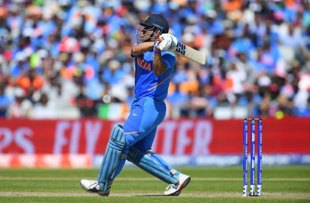 MS Dhoni uses different bat logos to express gratitude towards his sponsors in the World Cup 2019