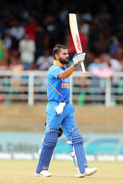 India vs West Indies 2nd ODI live score: West Indies need 280 to win after Kohli's 100 and Iyer's 50