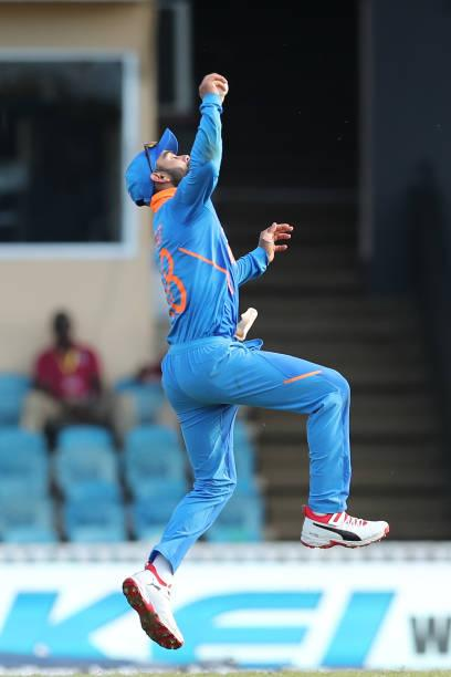 India vs West Indies 3rd ODI live score: Match to be 35-over a side game after rain interruptions