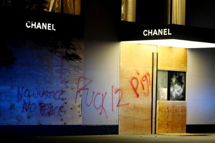 Louis Vuitton, Chanel, Fendi and more luxury stores looted amid protests over George Floyd's death