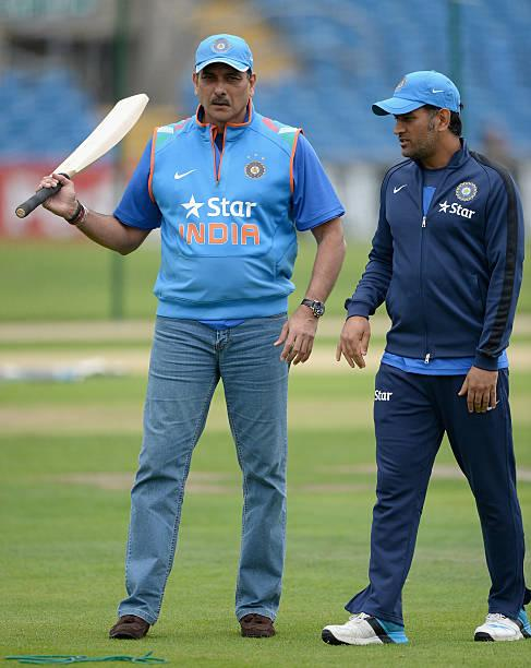 Ravi Shastri explains why MS Dhoni was sent in at No. 7 in the semis against New Zealand in the World Cup 2019