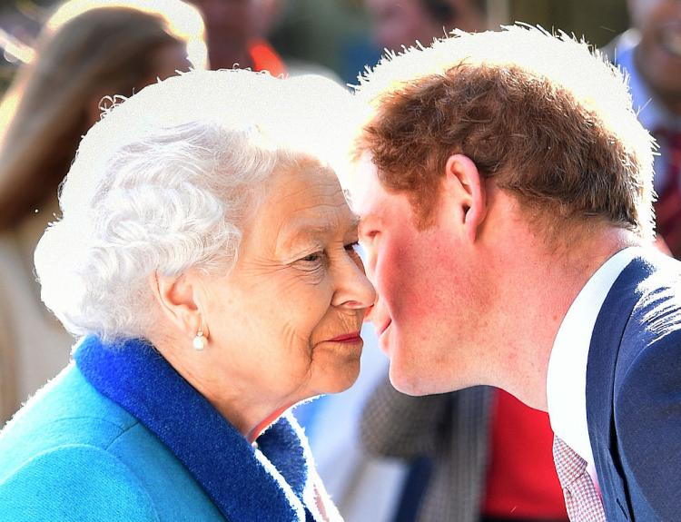 Prince Harry asked Queen Elizabeth for approval for his wedding outfit