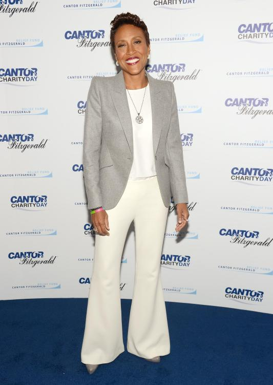 Good Morning America's anchor Robin Roberts celebrates huge milestone as she completes 20 years on the show