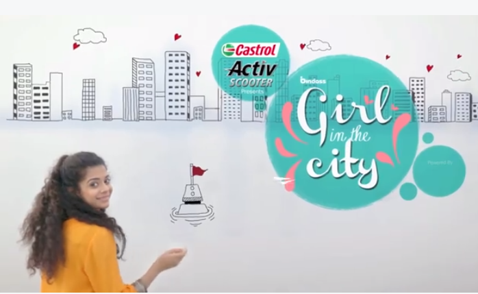 Image result for girl in the city web series