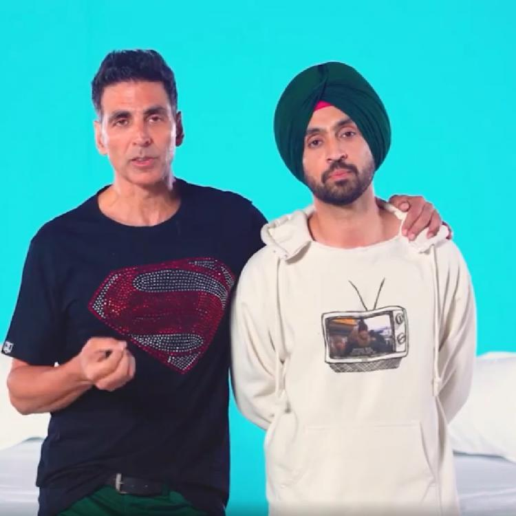 EXCLUSIVE: Diljit Dosanjh compares Good Newwz actor Akshay Kumar to Mr Bean; read on