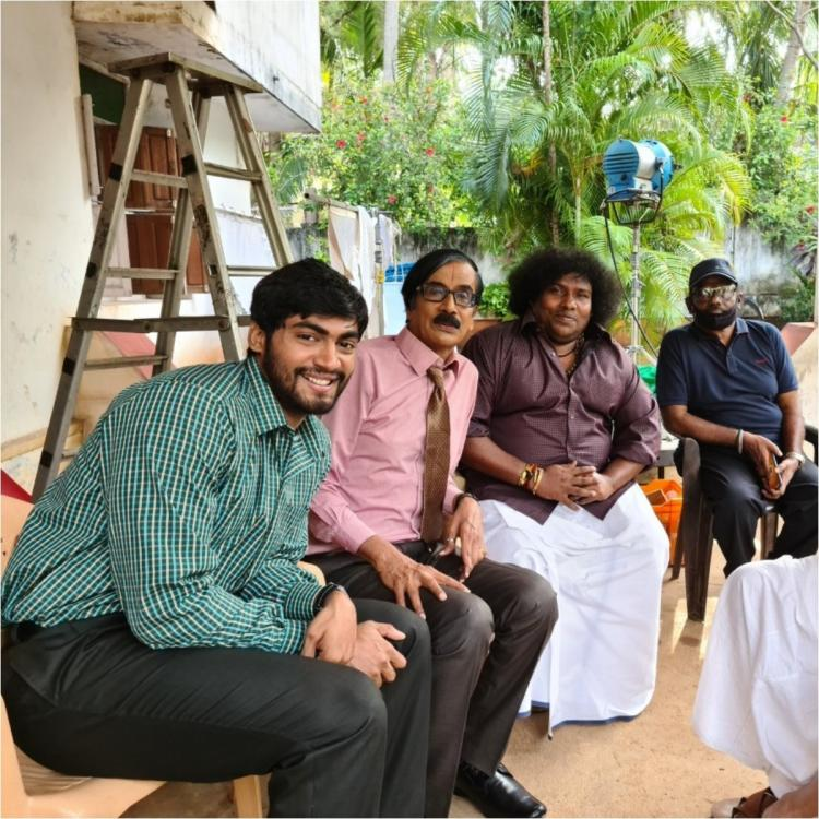 Google Kuttappan: First shooting schedule of Losliya and Tharshan starrer wrapped up