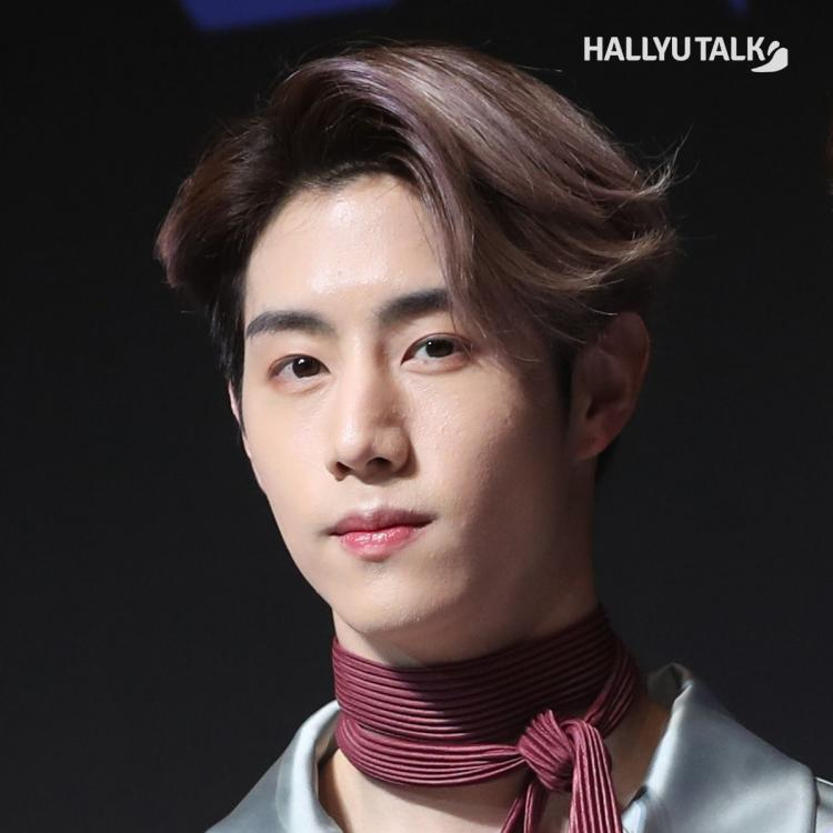 Mark of GOT7 at album press conference of Present: YOU