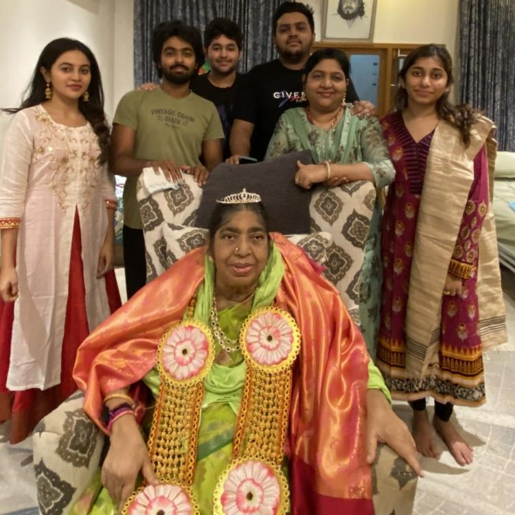 GV Prakash Kumar shares photo with AR Rahman's mother; Says his granny will always be their queen