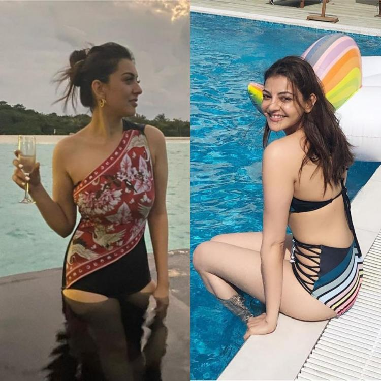 Hansika Motwani to Kajal Aggarwal: Here are 6 South actresses who have stunned us with their swimsuit pictures