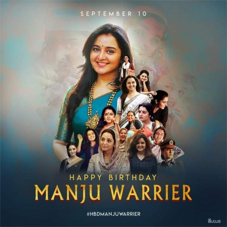 Happy Birthday Manju Warrier: Fans shower the Asuran actor with wishes as she turns 41