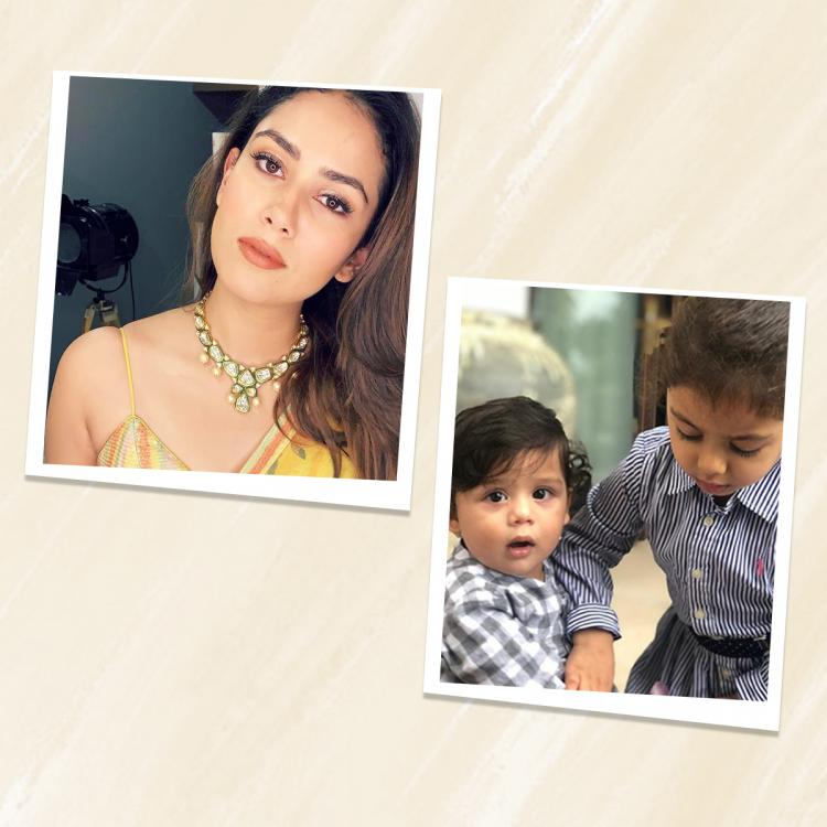 Happy Birthday Mira Rajput: When star wife donned hat of Best Mom as she turned photographer for Misha & Zain