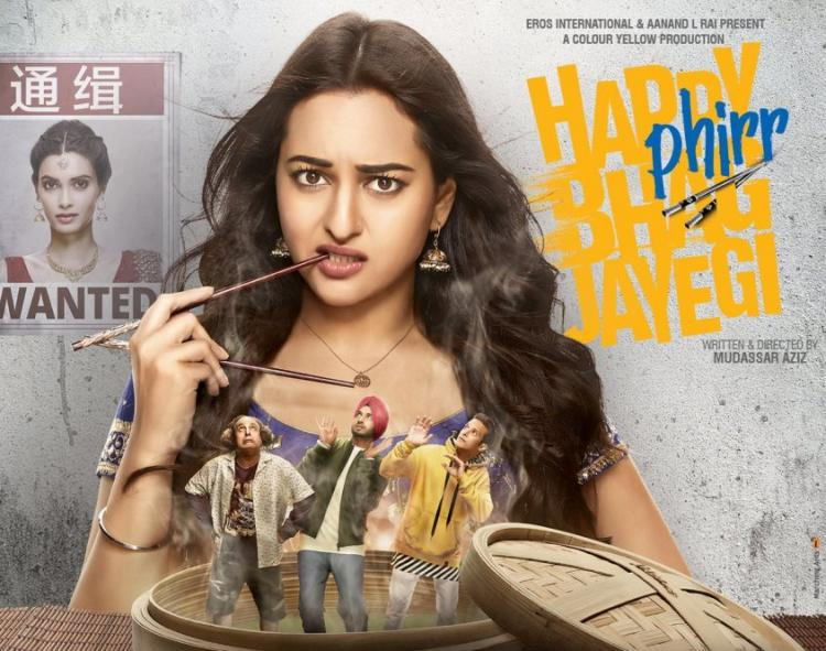 Happy Phirr Bhag Jayegi Review: Sonakshi Sinha's film is strictly a one-time WATCH   PINKVILLA