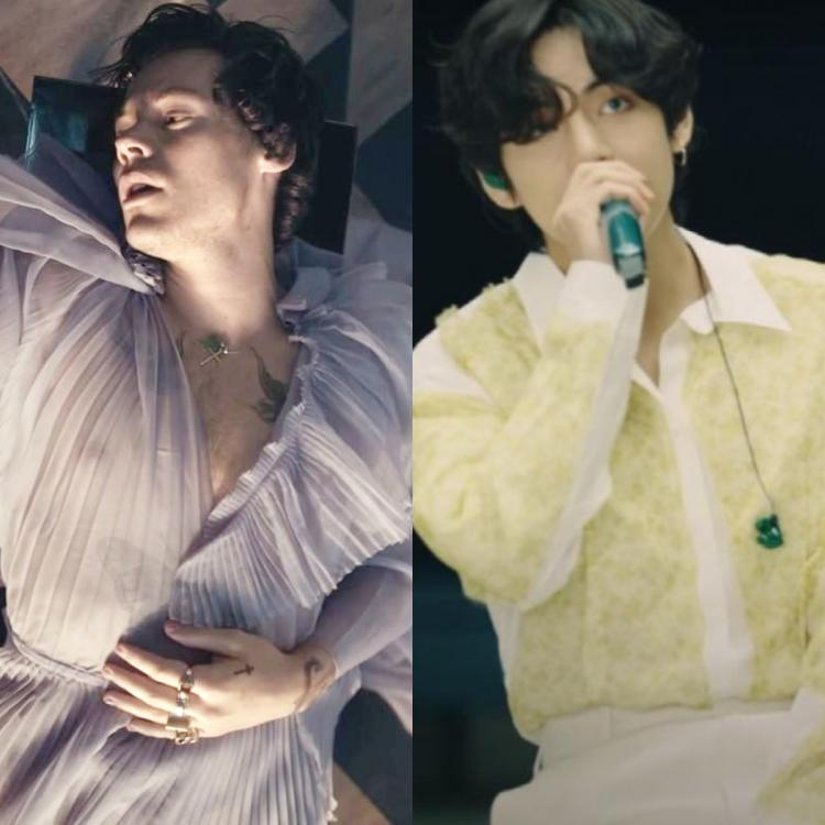 Harry Styles or BTS' V: Which singer's gender fluid style has bowled you over? VOTE