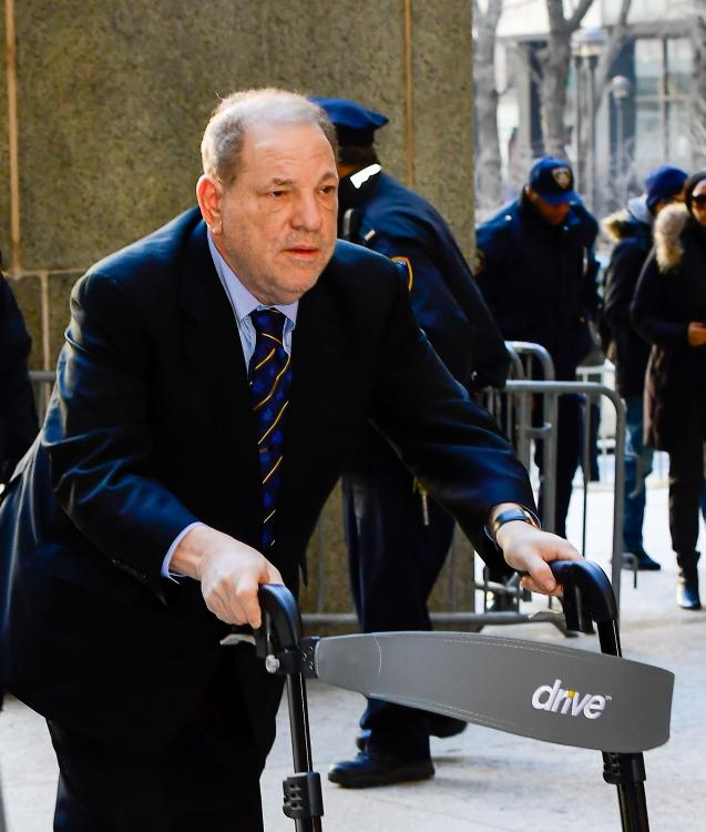 Harvey Weinstein naked pictures shown to jury during trial