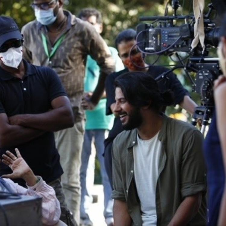 Dulquer Salmaan, Aditi Rao & Kajal Aggarwal's Hey Sinamika: Makers share working stills as they call it a wrap