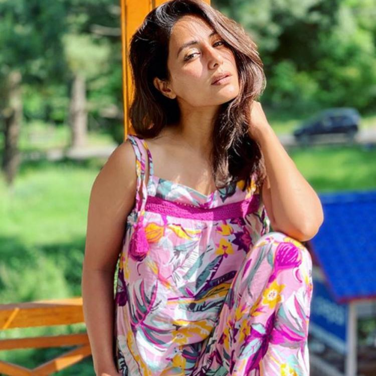 Hina Khan's sun kissed, no makeup PICS make for quite the magical click; check them out
