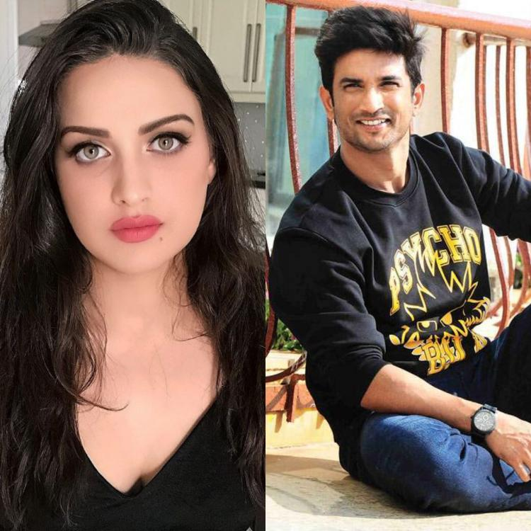 Himanshi Khurana shares Sushant Singh Rajput's photo with an ode about mental health