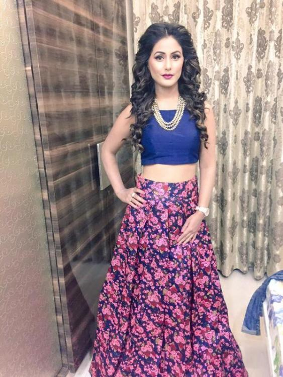 exclusive hina khan my family thought i was going