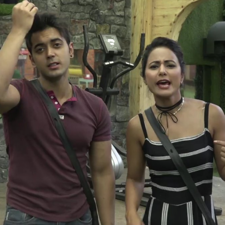Hina Khan posts an adorable message for her friend & ex Bigg Boss 11 contestant Luv Tyaagi; Check out her post
