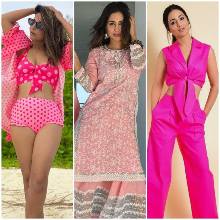 5 Times Hina Khan proved to be a beauteous style queen in shades of pink