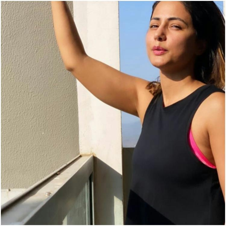 Hina Khan doles out Monday Motivation with her workout video amid lockdown and inspires us to sweat it out too
