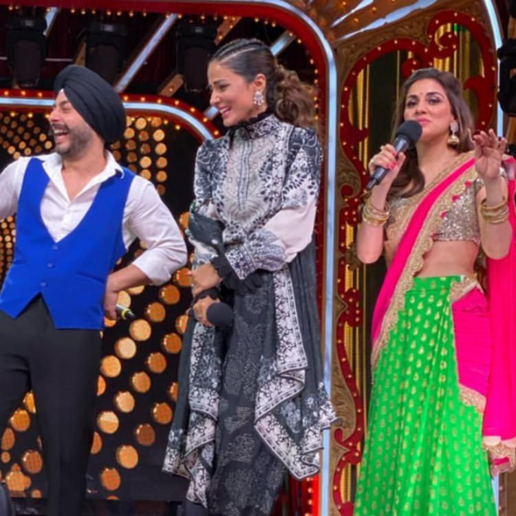 Nach Baliye 9: Hina Khan graces the show and shares fun BTS pictures on her Instagram; Check it out