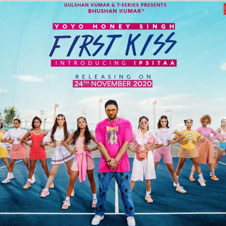 Yo Yo Honey Singh's new single First Kiss to have a 90s feel; To mark newcomer Ipsitaa's singing debut