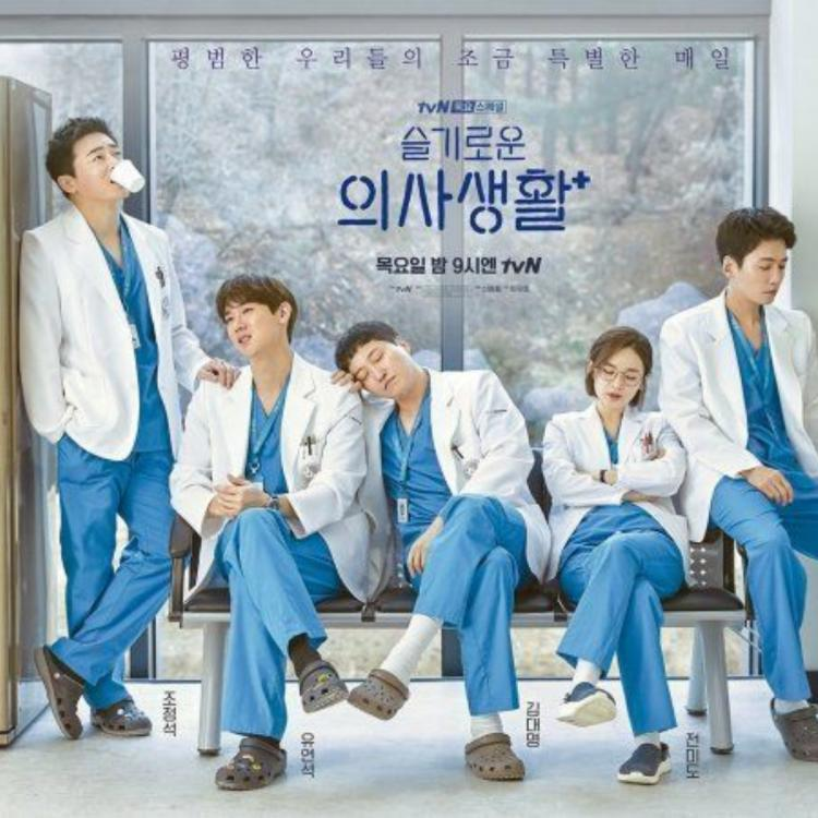 The official poster for the drama Hospital Playlist