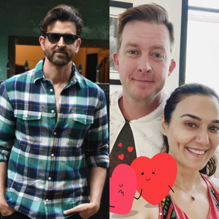Hrithik Roshan is super impressed with Preity Zinta's skills as she turns into a hairstylist for hubby Gene