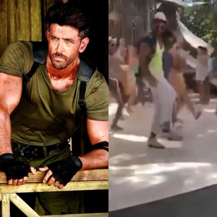 Hrithik Roshan sets internet ablaze as he rehearses to War's song Ghungroo in a BTS video; Watch