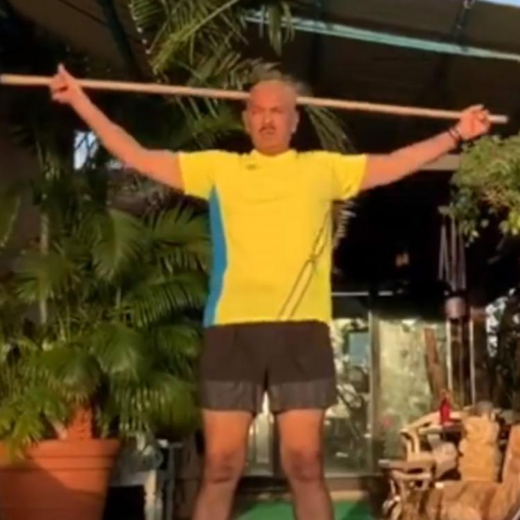 Hrithik Roshan shares a motivational video of Rakesh Roshan working out; Says Why did I not get his genetics?