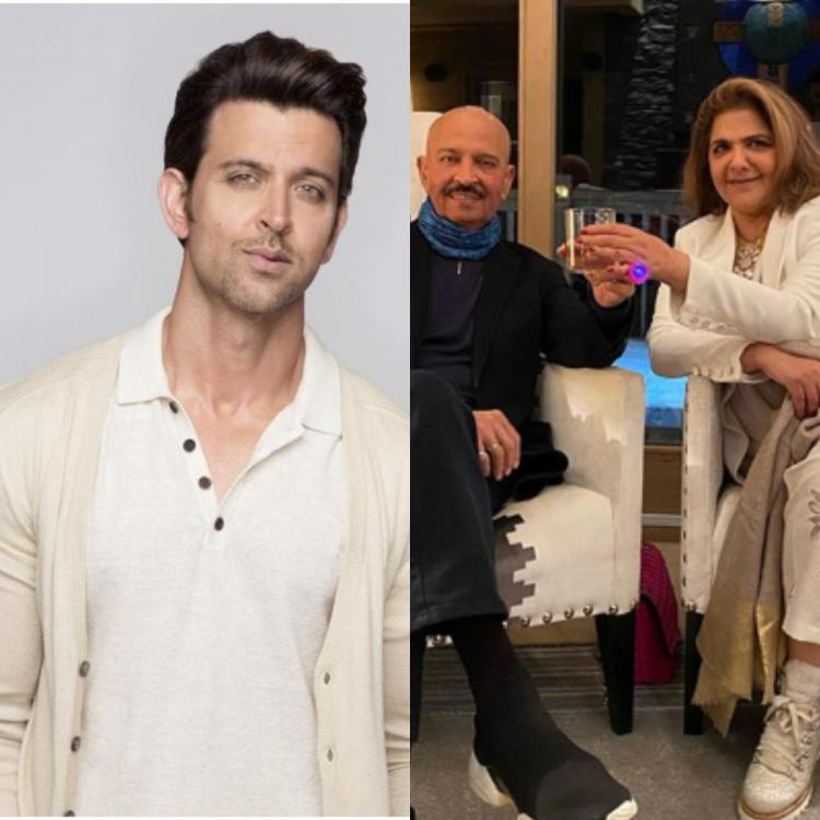 Hrithik Roshan's parents Rakesh and Pinkie Roshan shower the star with wishes on his birthday; Check it out