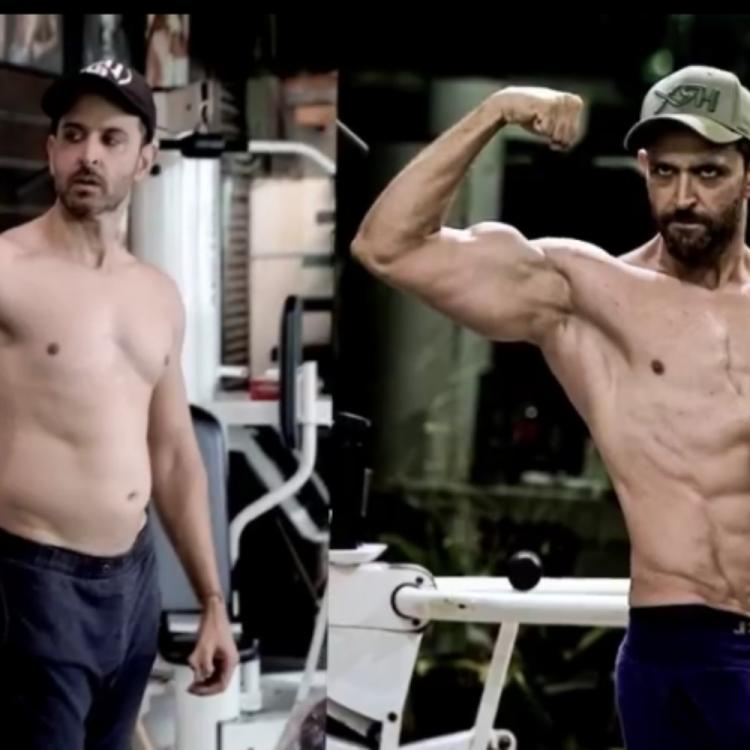 Hrithik Roshan Shares Video Of His Physical Transformation