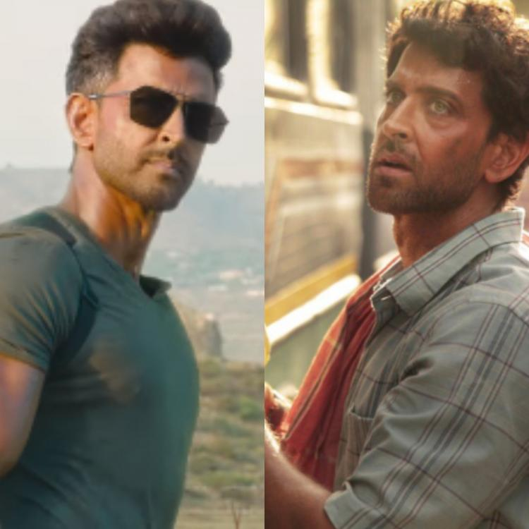 Hrithik Roshan as the hot fighter in WAR vs a simple mathematician in Super 30 gives rise to a new meme fest